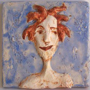 Keramikfliese von Johanna Martin