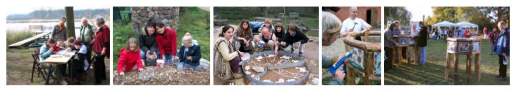 soziokulturelle Projekte der ersten zwei Jahre