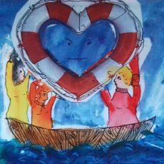 Das blaue Herz